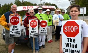 stop the wind turbines